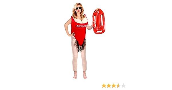 Disfraz de Vigilanta de la Playa - Mujer, L: Amazon.es: Ropa y ...