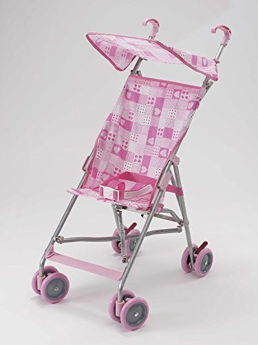 BIG OSHI Baby Time Shopping Umbrella Stroller - STR-920 - Pink
