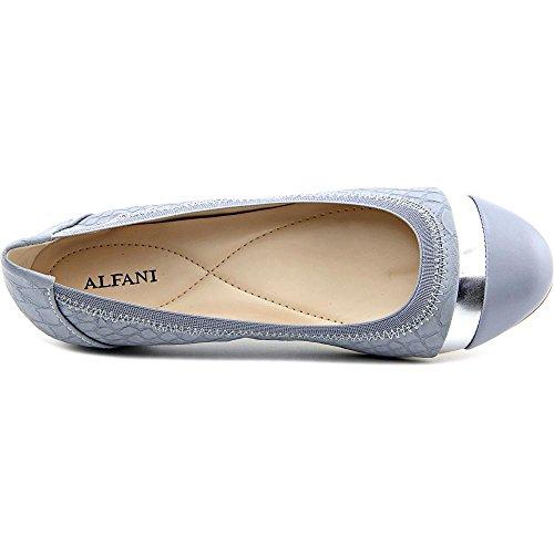 Alfani - Mocasines de Material Sintético para mujer gris Black Quilt