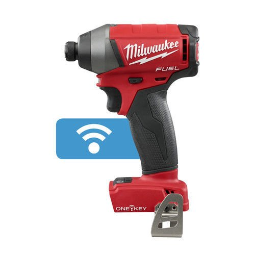 Milwaukee 2757-20 M18 FUEL 1/4'' Hex impact Driver with ''ONE KEY'' (Bare Tool)-Torque 1800 in lbs