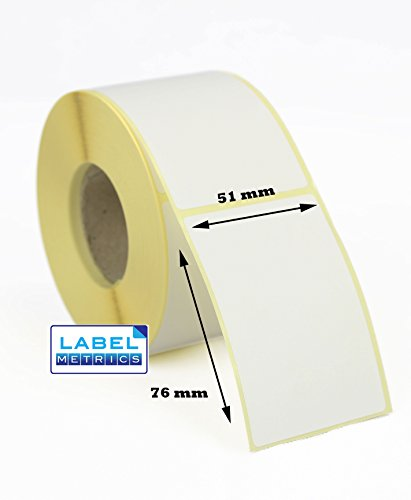51mm x 76mm Direct Thermal Scale Labels for Avery Berkel - 500 per roll - 38mm core. (5)