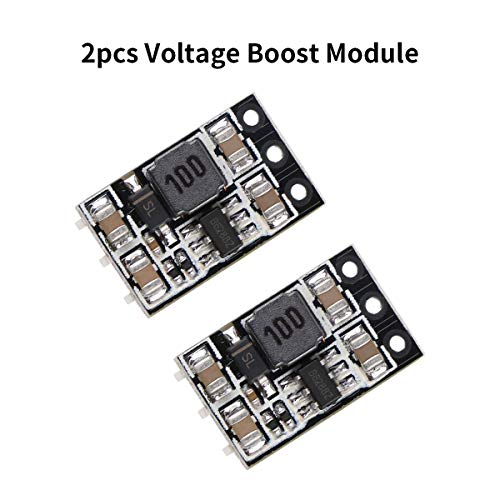500 Mah Usb Converter - Crazepony 2pcs 500MA 1S Voltage Step Up Boost Module 3.7V in 5V out for Blade Inductris Lipo Battery