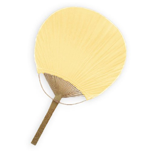 Weddingstar Paddle Fan, Ivory