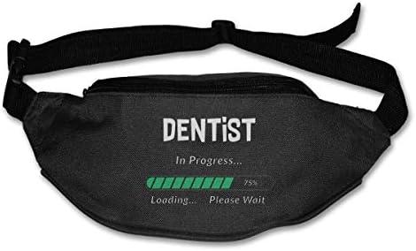 進行中の歯科医ユニセックスアウトドアファニーパックバッグベルトバッグスポーツウエストパック
