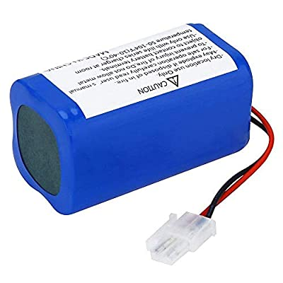 SODIAL 14.8V 2800Mah Replacement Battery for Ilife A4 A4S A6 V7 Robot Vacuum Cleaner