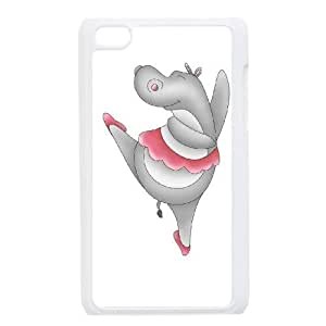 DDOUGS I Hippo Personalized Cell Phone Case for Ipod Touch 4, Best I Hippo Case