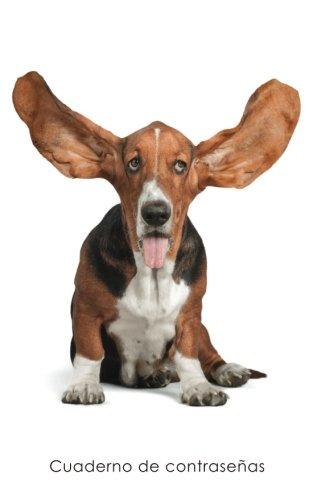 Cuaderno de contraseñas: Libro de registro de direcciones y contraseñas en internet - Cubierta de Basset (Cuadernos para los amantes de los perros) (Spanish ...