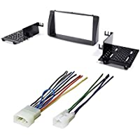 CAR AFTERMARKET STEREO CD PLAYER RECEIVER DASH KIT INSTALLATION W/ WIRE HARNESS FOR TOYOTA COROLLA 2003-2008