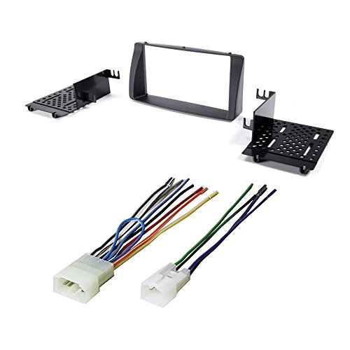 CAR AFTERMARKET Stereo CD Player Receiver Dash KIT Installation W/Wire Harness for Toyota Corolla 2003-2008