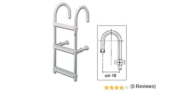 Royal 1777 - Escalera para barcos: Amazon.es: Deportes y aire libre