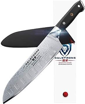 Dalstrong Cuchillo Santoku - Shogun serie - AUS-10V japonés acero 67 capas - vacío tratados - 7
