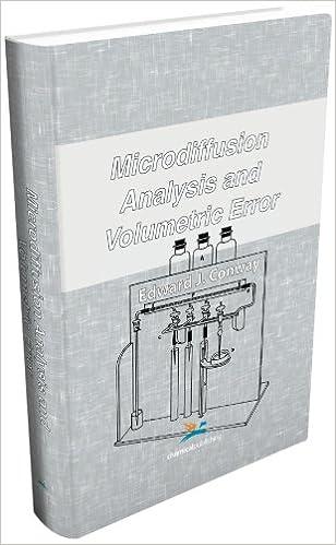 Microdiffusion Analysis and Volumetric Error
