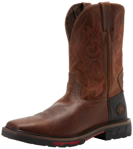 UPC 731871097386, Justin Original Work Boots Men's Hybred Wk Work Boot,Rugged Tan,11.5 D US