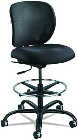 Safco Vue Heavy Duty Task Chair, Black