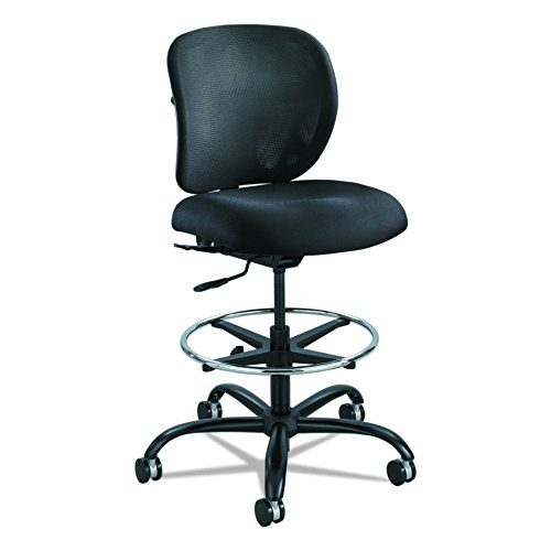 (Safco Products 3394BL Vue Heavy Duty Task Chair, Black)