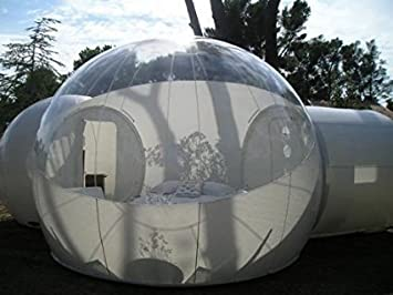 BubbleU24(TM) Mobile Inflatable Bubble Tent With Two Tunnels Family C&ing Tent (157 & Amazon.com : BubbleU24(TM) Mobile Inflatable Bubble Tent With Two ...