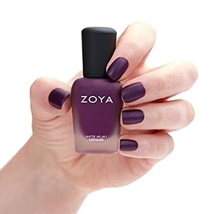 Amazon ZOYA Nail Polish Iris Mattevelvet 05 Fluid Ounce Luxury Beauty