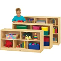 Jonti-Craft 0324JC Toddler Single Mobile Storage Unit