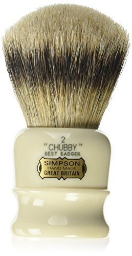 Chubby 2 Best Badger Shave Brush shave brush by Simpson by Simpson
