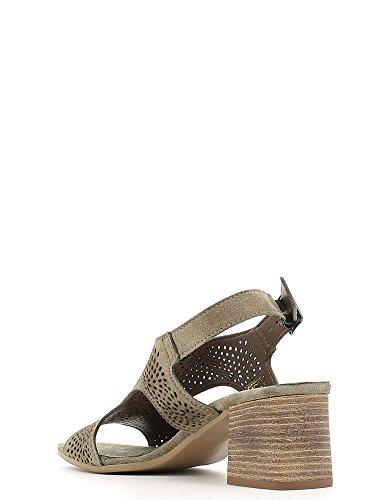 Cafenoir XL612 High heeled sandals Frauen Taupe 37