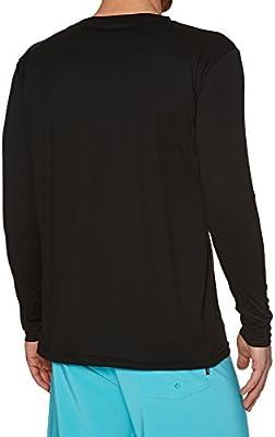 Long Sleeve /& T Shirt Style fit Rip Curl Mens Search Surflite Long Sleeve Rash Vest Top Black UPF50+
