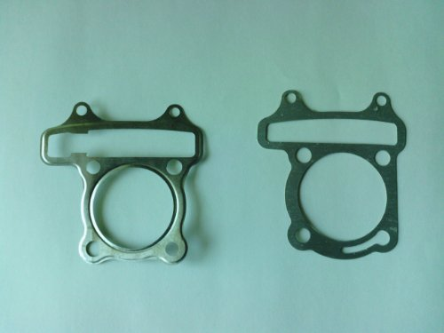 Chinese atv scooter moped 150cc Head and Base Gaskets set China Atv Scooters