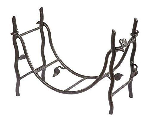 Stone County Ironworks Sassafras Log Basket, Hand Rubbed Ivory 205734-OG-143019-O-761344, Hand Rubbed Ivory 205734-OG-143019-O-761344 O by Stone Country Ironworks