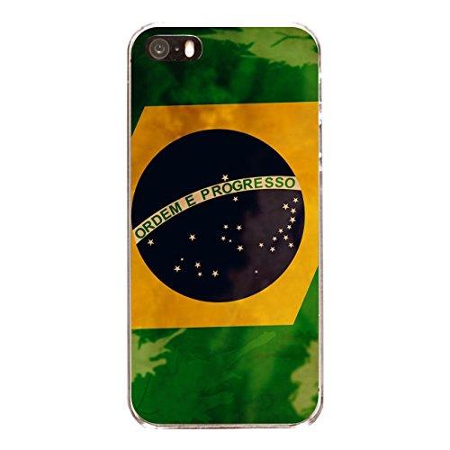 """Disagu Design Case Coque pour Apple iPhone SE Housse etui coque pochette """"Brasilien"""""""