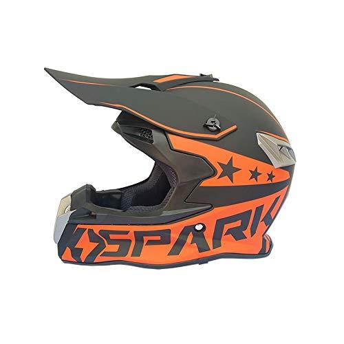 HYH ABSエンジニアリングプラスチック高密度epsオフロードマウンテンフルフェイスオートバイヘルメットクラシック自転車ヘルメットオートバイオフロードダウンマウンテンバイクヘルメット いい人生 (Size : S) Small  B07SCQKVJT