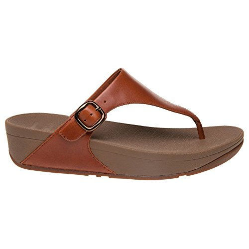 Fitflop Aperta The Punta Tan Donna Skinny Sandali Dark Brown Z4ZqrR