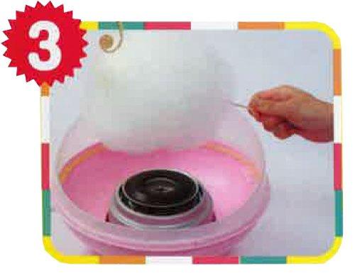 簡単にふわもこ綿菓子