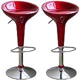 Amazon Com Modernhome Red Omicron Kitchen Padded Bar