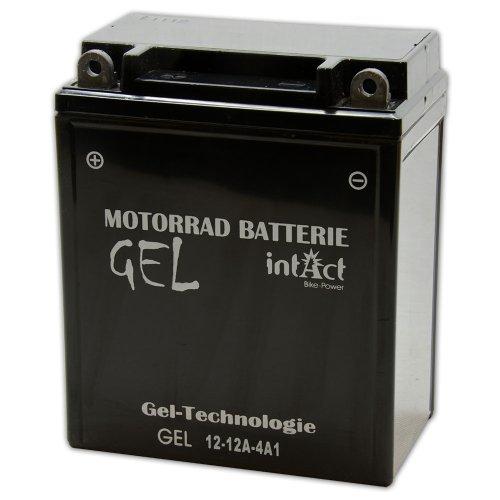 Motorfiets batterij gel 12 V 12 AH – 51211 – 12N-12A-4A-1 – YB12A-A – CB12A-A – 512011012 – GEL-technologie