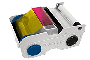 Fargo YMCKO Cartridge w/Cleaning Roller -250 images
