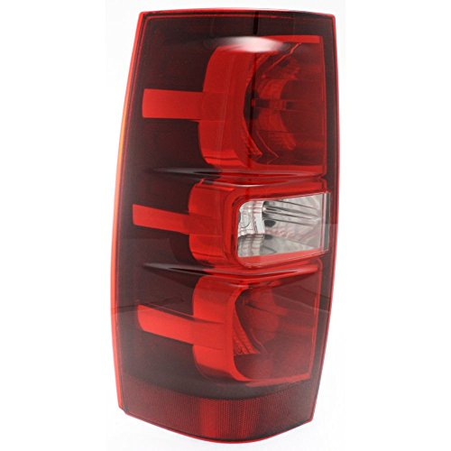 Tail Light for Chevrolet Tahoe 07-14 Assembly Left Side Chevy Tahoe Drivers Side Tail