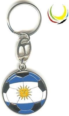 Keychain ARGENTINA SOCCER BALL