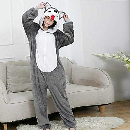 JIAWEIDAMAI Pijamas De Animales Husky Dog Onesies para ...