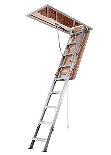 Attic Ladder, IAA, 375 lb., 3 in. Step W