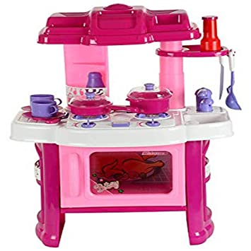 Buy Wonder 008 26 Big Size Kitchen Set Toy With Music And Lights