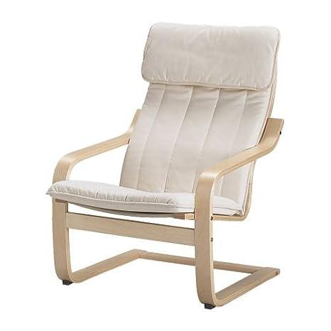 Sedia A Dondolo Poang Ikea Prezzo.Ikea Poang Poltrona Con Cuscino Fodera E Struttura