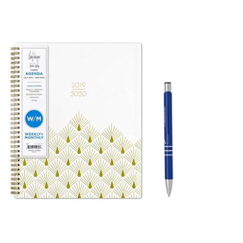 May Designs for Blue Sky Weekly Monthly July 2019- June 2020 Academic Planner 9