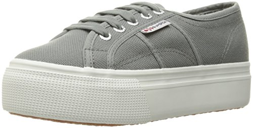 Superga Women's S0001l0 Fashion Sneaker, Grey Sage, 36 EU/6 M US