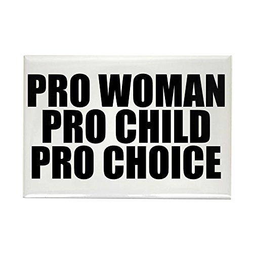 CafePress Pro Woman Child Choice Rectangle Magnet Rectangle Magnet, 2