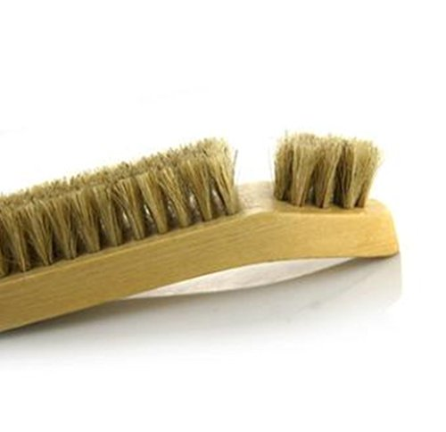 Beaumens Shoe Shoes Boots Shine Brush Cleaning Kit Horsehair Bristles Suede Nubuck Leathers by Beaumens (Image #2)