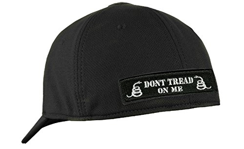99bdd27874dfd Condor Fitted Tactical Cap Bundle (Punisher DTOM Patches) - Black L XL
