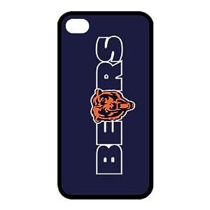 Custom Chicago Bears Back Cover Case for iphone 4,4S JN4S-692