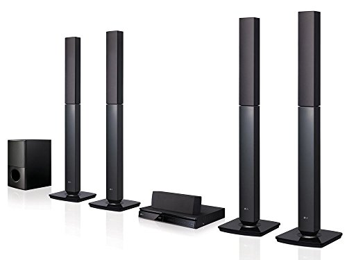 LG LHD657 Bluetooth Multi Region Free 5.1-Channel Home Theater Speaker System w/ Free HDMI Cable