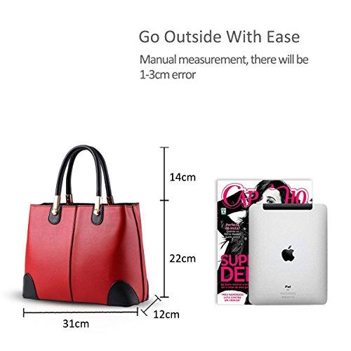 Nicole fashion women purse women Red shoulder handbags Messenger bag bag bag amp;Doris Azure new wtSxqrPtI