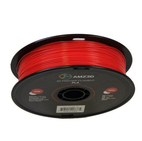 - Dimensional Accuracy +//- 0.03mm AMZ3D PLA-1.75-Red-1kg 1.75mm Red PLA 3D Printer Filament 1kg Spool 2.2 lbs