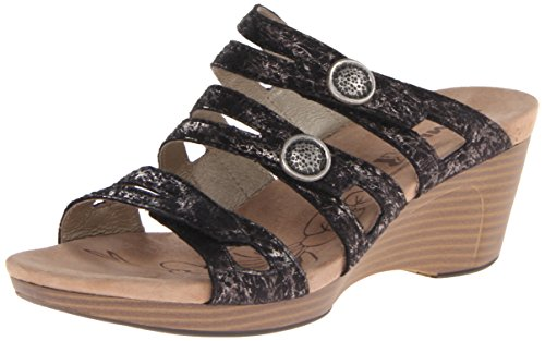 Romika of Germany Women's Jamaika 02 Wedge Sandal - Black...